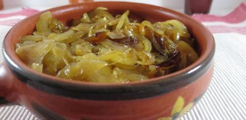 Confit d'oignon au vinaigre balsamique