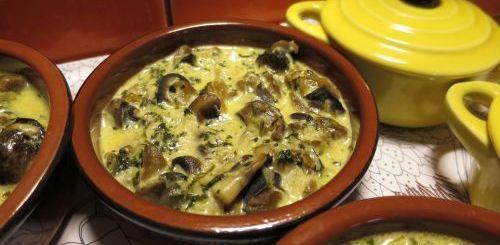 Cassolettes d'escargots