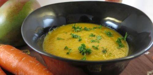 Soupe mangue & carottes