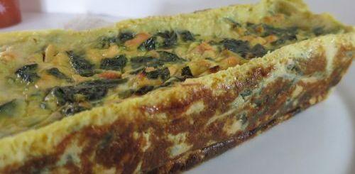 Cake saumon & épinards