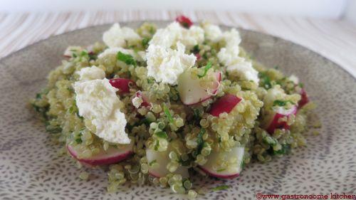 Taboulé de quinoa & radis