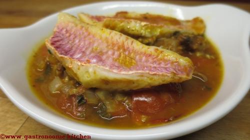 Filets de rougets à la provençale