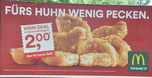 Huhn Plakat