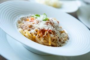 Pasta mit Tomatensoße, Foto: Marko Zlousic