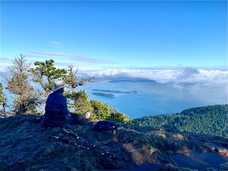 You are surrounded by beauty everywhere on Orcas Island