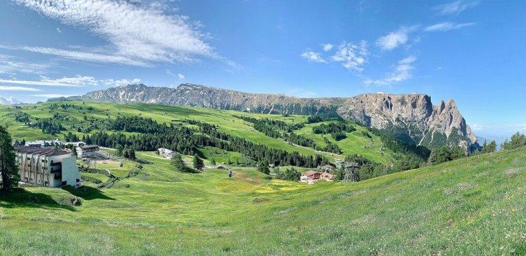 The spectacular Alpe di Siusi