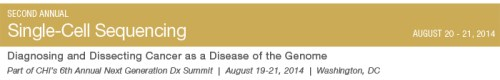 Single-Cell Sequencing | August 20-21, 2014