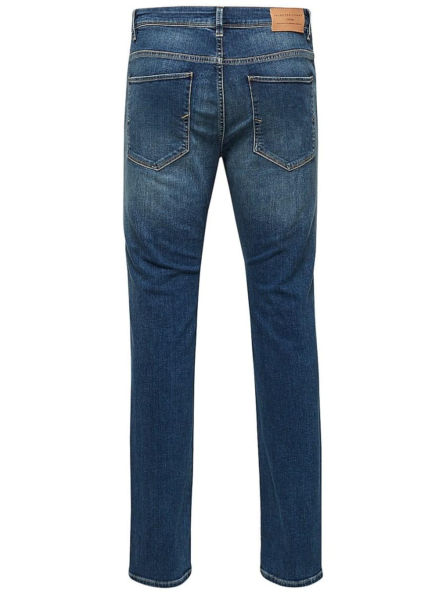 Selected Jeans - Leon 1004 Medium Blue | Gate 36 Hobro