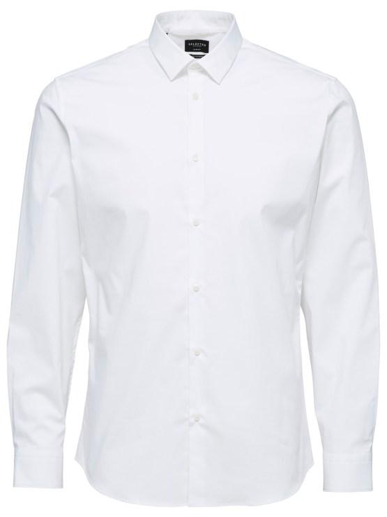 Selected Skjorte - Preston White L/S | Gate 36 Hobro