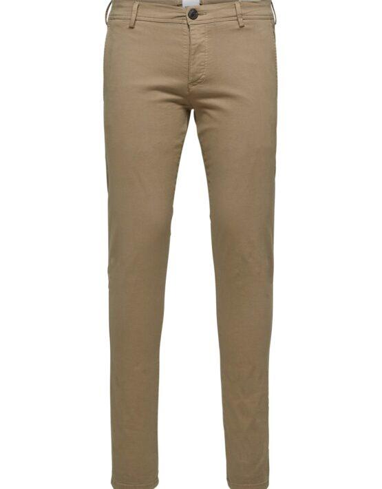 Selected – Skinny Luca Pants Greige