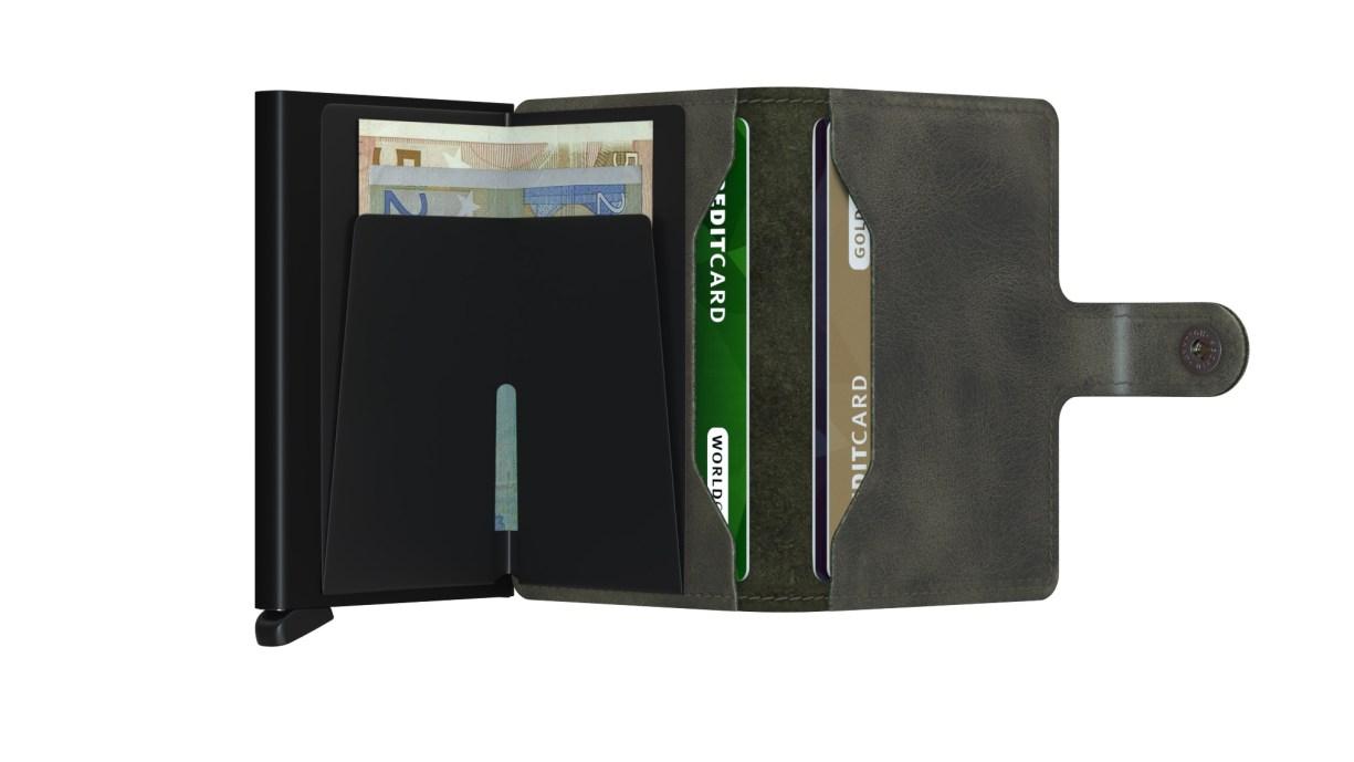 Secrid Miniwallet - Vintage Olive/Black | Gate 36 Hobro | Herretøj