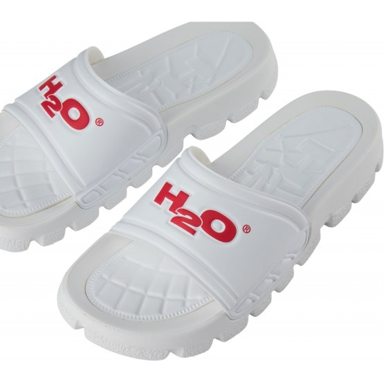 H2O Badesandal - Trek Sandal White/Red | Gate 36 Hobro