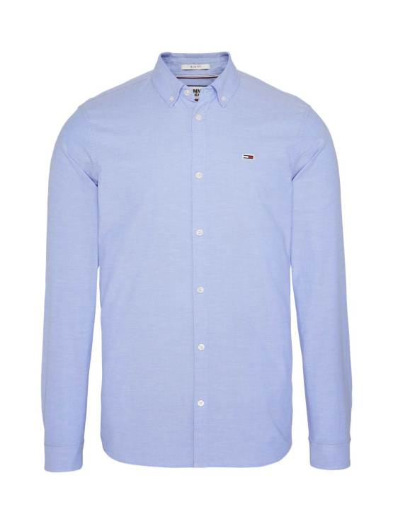 Tommy Hilfiger Stretch Oxford Light Blue | Gate 36 Hobro