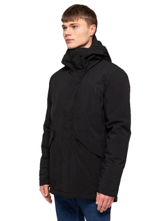 RVLT - Jacket 7661 Parka Black | GATE36 Hobro