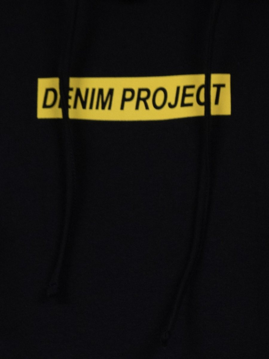 DENIM PROJECT- Hoodie Logo black | GATE36 Hobro