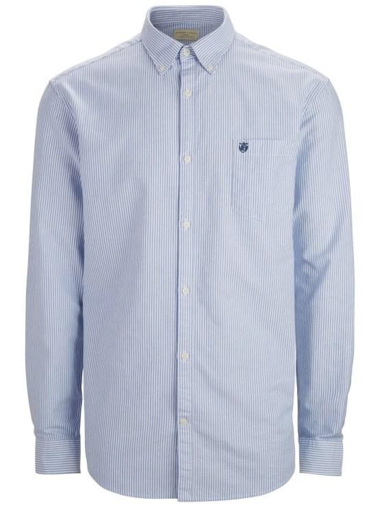 SELECTED Skjorte - Collect Stripe | GATE36 Hobro