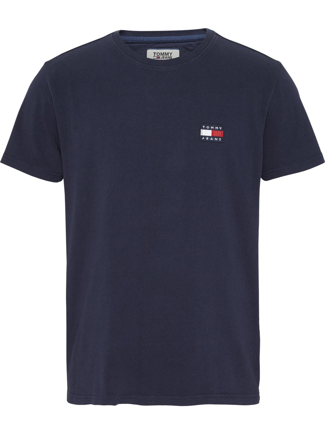 TOMMY HILFIGER - T-shirt badge blue | GATE36 Hobro