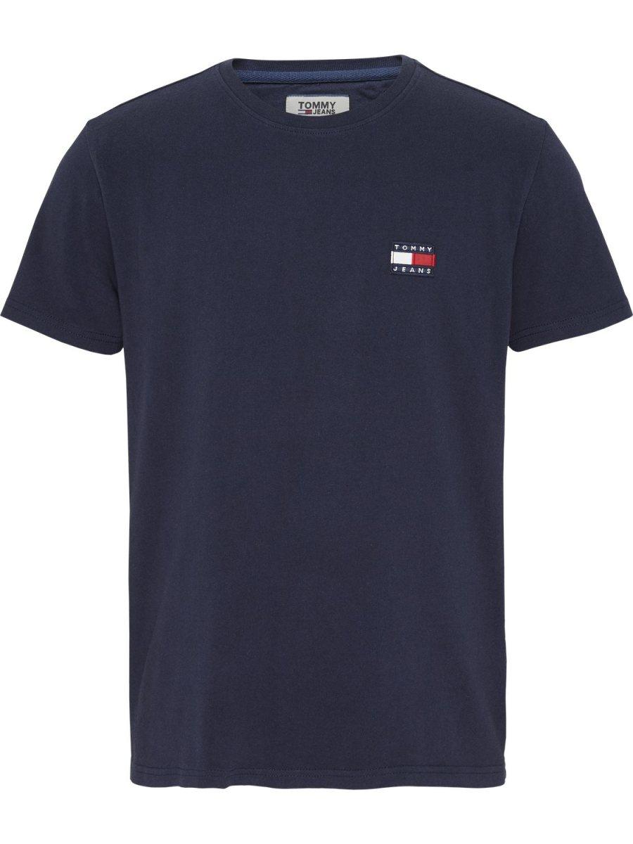 TOMMY HILFIGER - T-shirt badge blue | GATE36 Hobro
