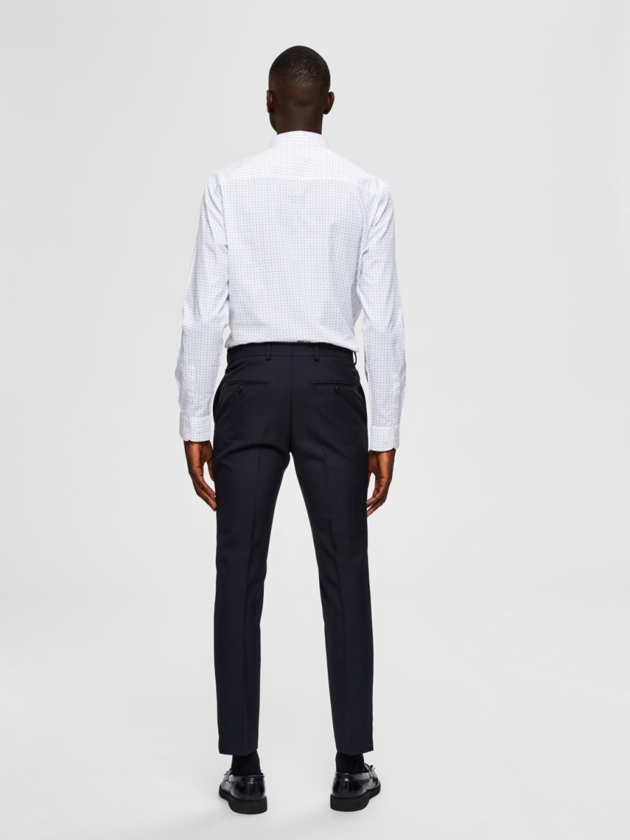 Selected Skjorte - Slim Scandic White Mix | GATE36 Hobro