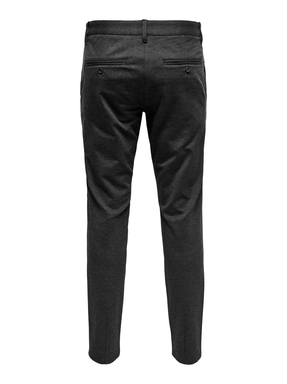 ONLY & SONS - Mark Pants Dark Grey | GATE36 HOBRO