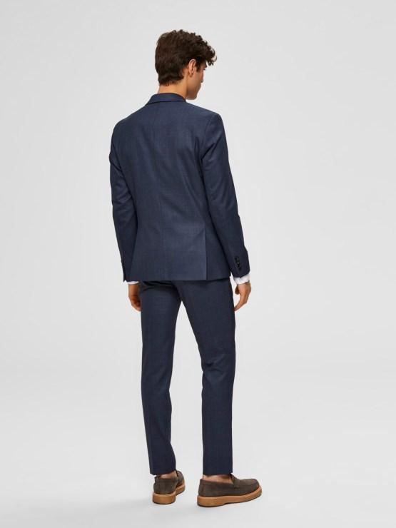 Selected Blazer - Slhslim Flex Dark Blue