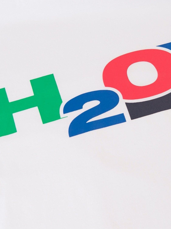 H2O Skagen T-Shirt White/Blue/Navy | GATE 36 Hobro