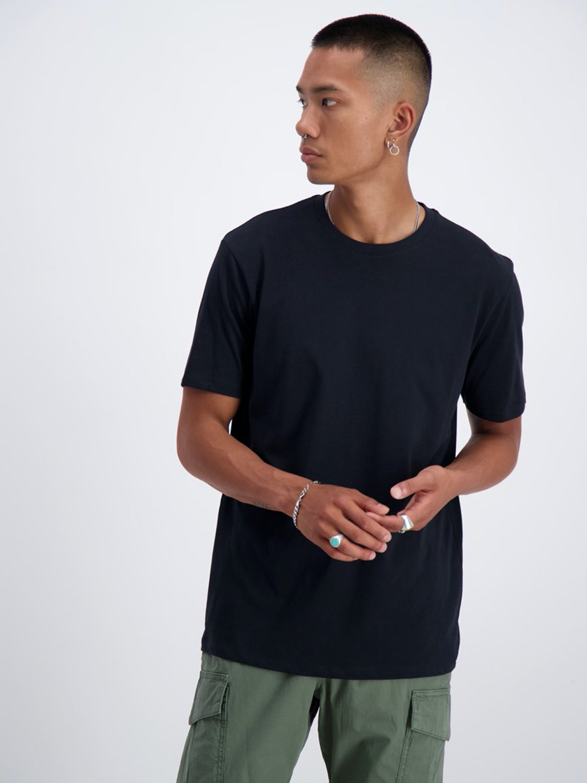 Junk De Luxe - Basis T-Shirt Sort | GATE 36 Hobro