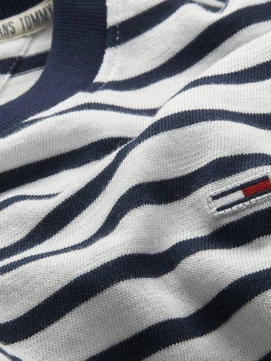 TOMMY HILFIGER - T-shirt Stripe Navy/White   GATE 36 HOBRO