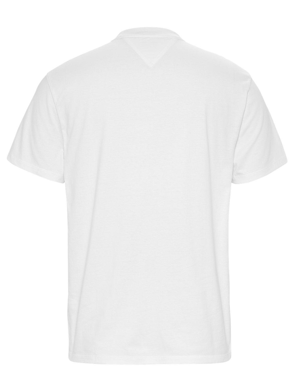 TOMMY HILFIGER - T-shirt Box Logo White   GATE 36 Hobro