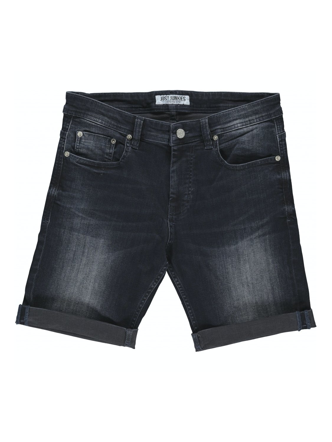 Just Junkies mike shorts JJ1764 dark denim | GATE 36 Hobro