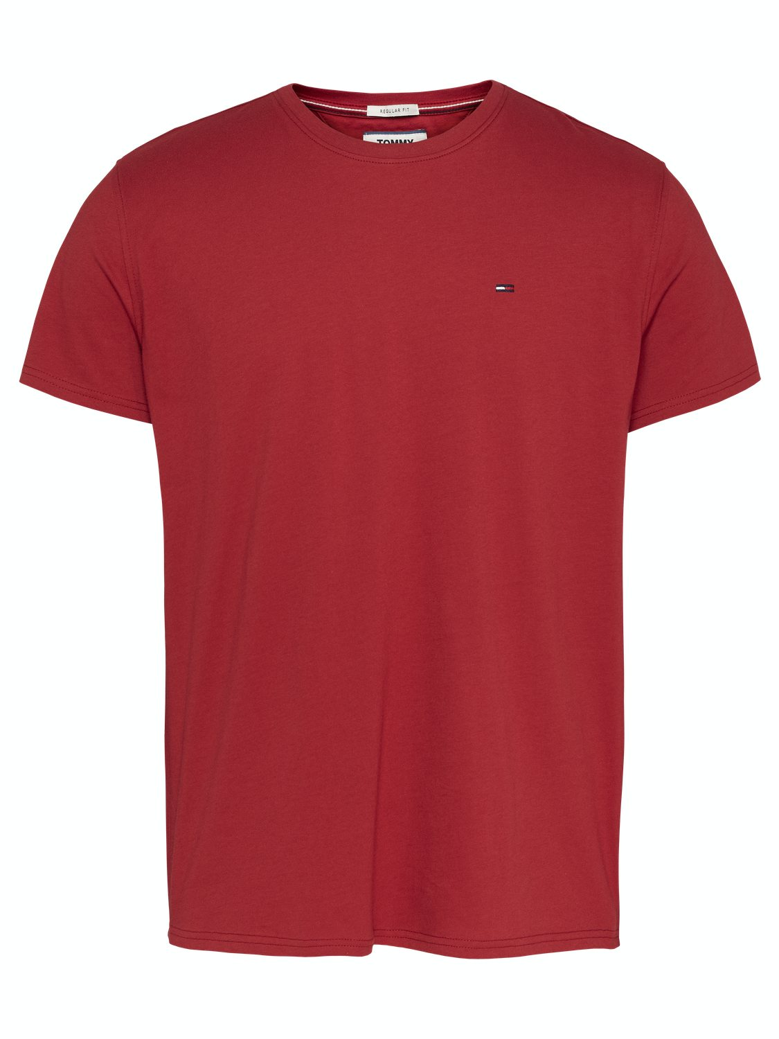 TJM solid T-Shirt - Wine Red | Gate36 Hobro