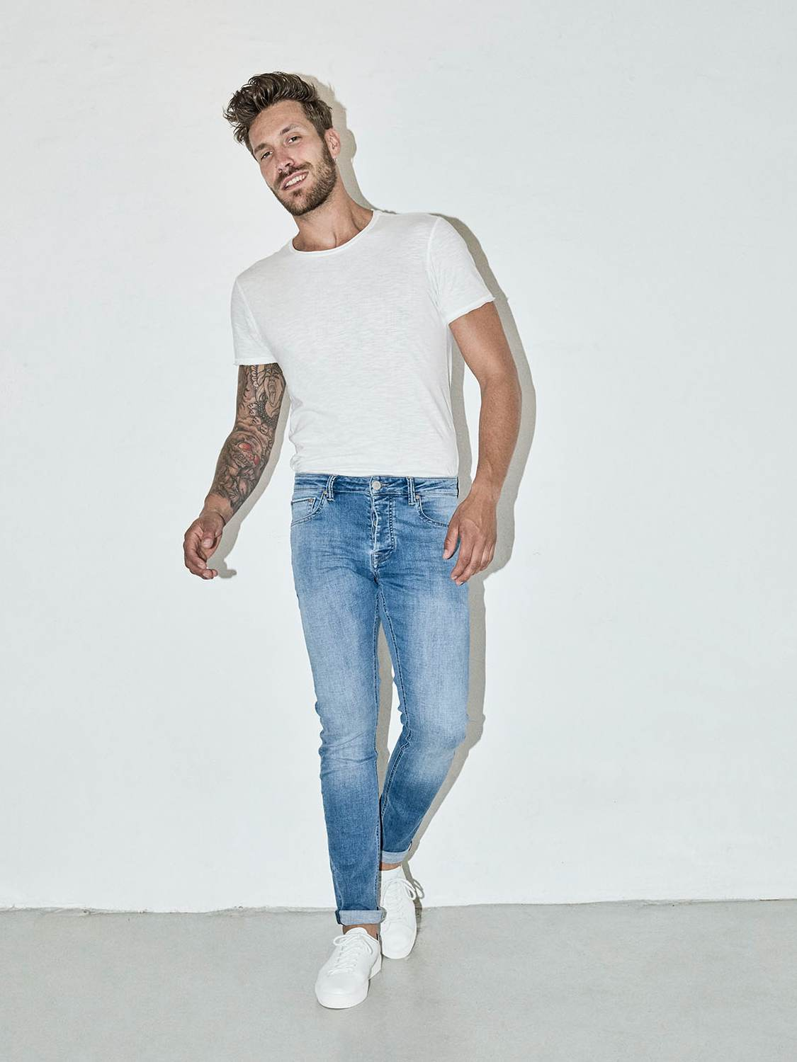 GABBA JEANS - Jones K2615 Lt. Blue | GATE 36 Hobro