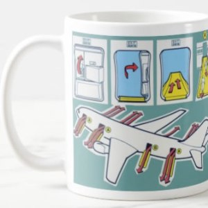 Emergency Safety Card Coffee Mug