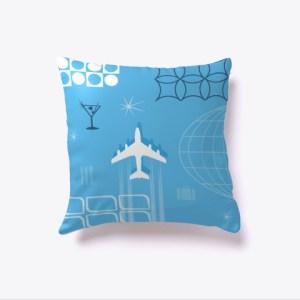 Mid-Century Travel Pillow