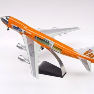 Braniff International Boeing 747-100 Scale Cutaway Model