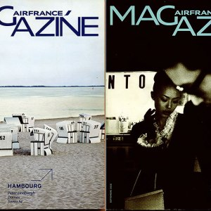 Two Air France In-Flight Magazines SEP/OCT 2010