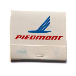 Piedmont Airlines Matchbook/Matches 737