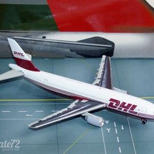 Jet-X DHL A300B4 (OO-DIB), 1:400 Scale Model
