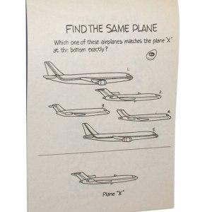 Eastern Airlines – Happy Skies Kids Activity Book