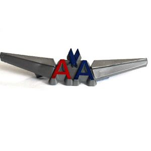 American Airlines Jr. Pilot Wings – Pinback