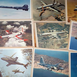 Vintage Lockheed Lobby Card/One Sheet Print Collection