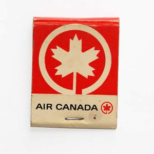 Air Canada Airline Matchbook/Matches