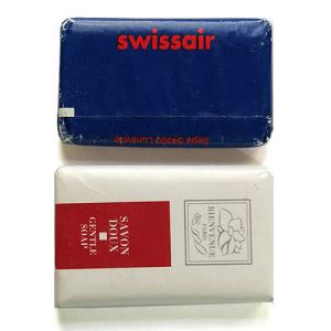 Swissair Airlines Lavatory Soap Bar Set