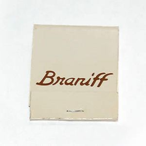 Braniff Airlines Matchbook/Matches