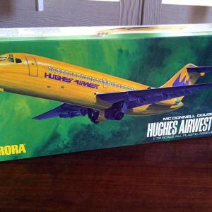 Aurora Hughes Airwest DC-9 1/72 scale Model