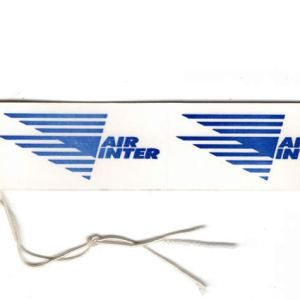Air Inter French Airlines Luggage Tag