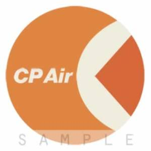 Retro Airline Fabric Drink Coasters – CP Air