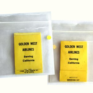 Golden West Airlines Mending/Sewing Kit