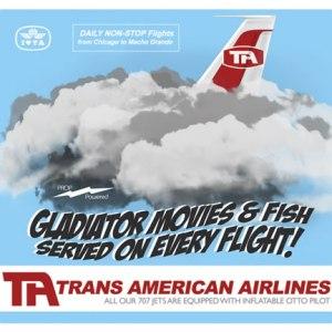 Trans American Gladiators and Fish