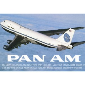 Pan AM Advertisement Tee